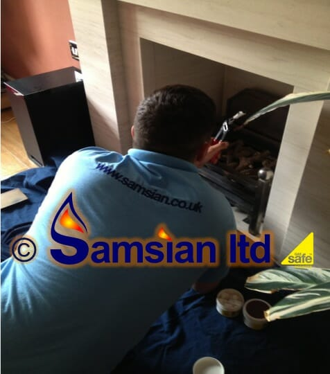 Andy servicing