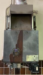 Old boiler repair