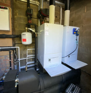 Commercial vaillant boiler installer