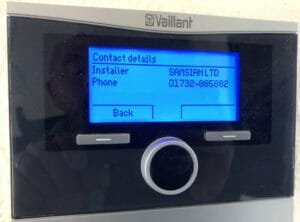 Vaillant controls installer kent