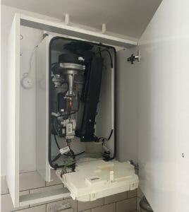 ideal boiler service check