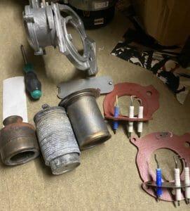 Worcester boiler service electrodes