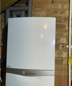 vaillant boiler in loft